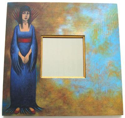 Morwenna Mirror by Teresa Flavin