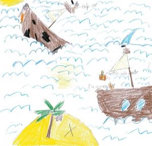 Alexa's dramatic boat scene.