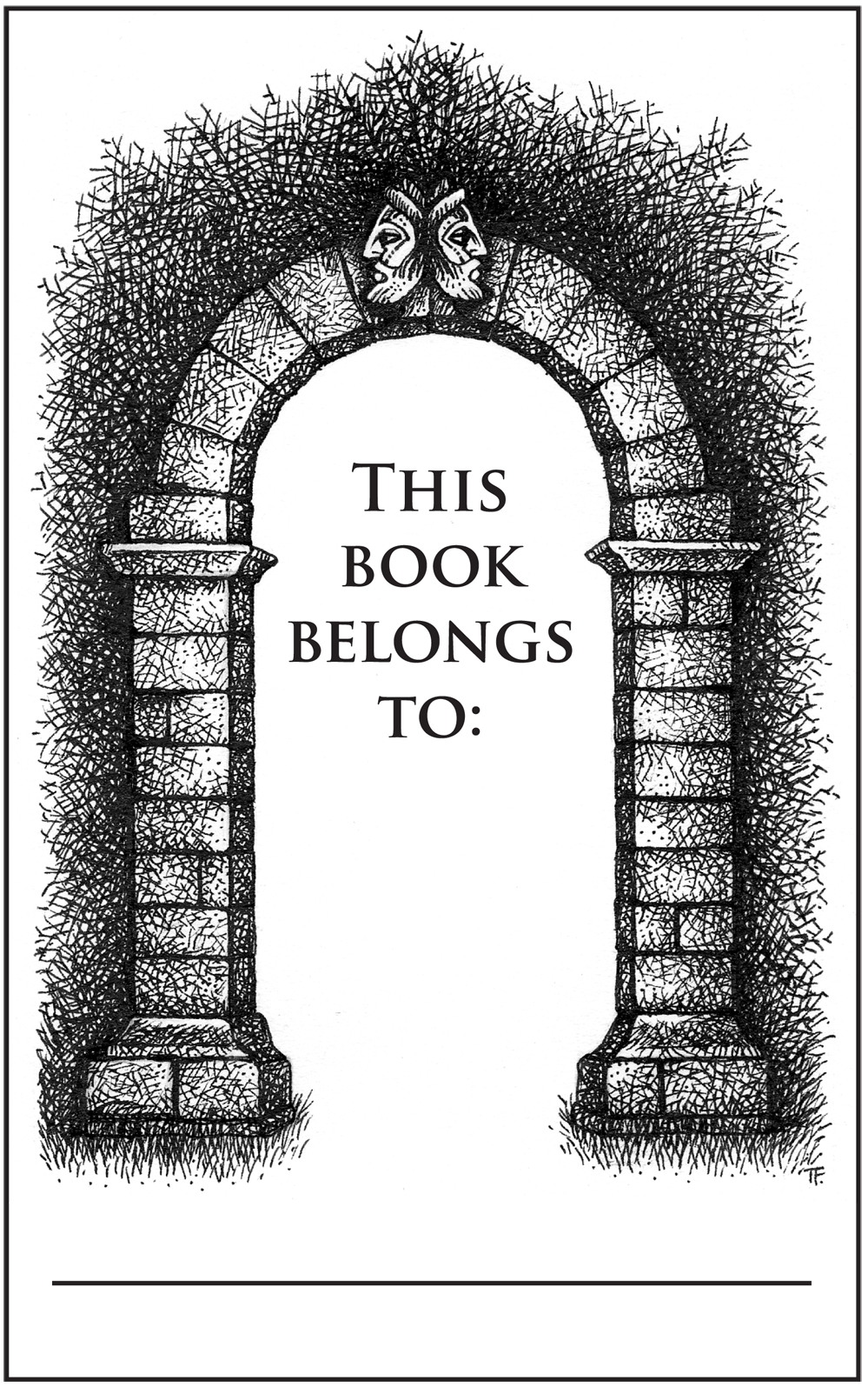 Janus Arch Bookplate